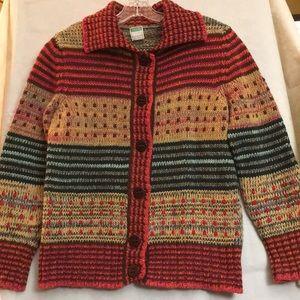 Cardigan Sweater Jacket by Benetton